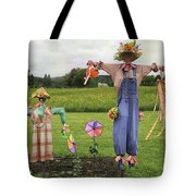 Scarecrows Tote Bag