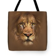 Scarface Lion Tote Bag