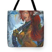 Scarlet And Rc Sisters In Arms 01 Tote Bag