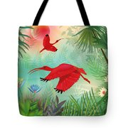 Scarlet Corocoro - Limited Edition 1 Of 20 Tote Bag