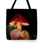 Scarlet Waxcap Tote Bag