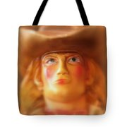 Scary Cowgirl Tote Bag