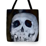 Scary Skull Tote Bag by Dan Sproul