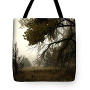 Scary Trees Tote Bag