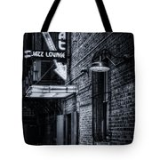 Scat Lounge In Cool Black And White Tote Bag