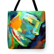 Scattered Particles Tote Bag