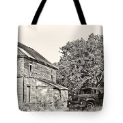 Scene From The Past Tote Bag