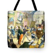 Scene In The Louvre 1911 Tote Bag