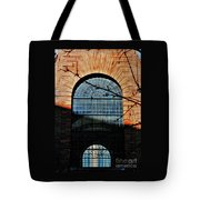 Scene In The Old City, London Tote Bag
