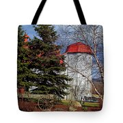Scene In Vermont Tote Bag