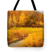 Scene Of Gold Tote Bag