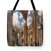 Scenery Design For The Betrothal Tote Bag
