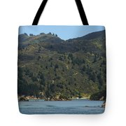 Scenery On Cook Strait Tote Bag
