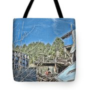 Scenes From An Abandoned Factory In South Dakota 2 Tote Bag