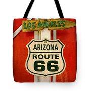 Scenes On Route 66 Tote Bag