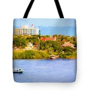 Scenes On The Water Tote Bag