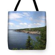 Scenic Acadia Park View Tote Bag