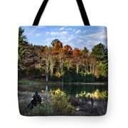 Scenic Autumn At Oakley's Tote Bag by Christina Rollo