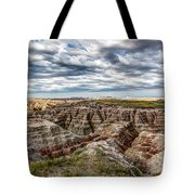 Scenic Badlands Tote Bag