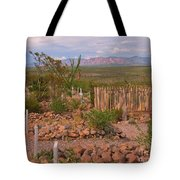 Scenic Boothill Cemetery In Tombstone Arizona Tote Bag