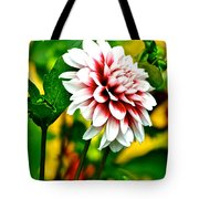 Scenic Bouquet Tote Bag