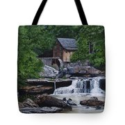 Scenic Grist Mill Tote Bag