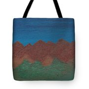 Scenic Mountains Tote Bag