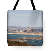 Scenic Lake Powell Tote Bag