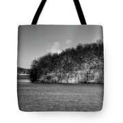 Scenic Morning On The Fox River Tote Bag