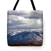 Scenic Moutains Tote Bag