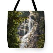 Scenic Of Shannon Fallsbritish Columbia Tote Bag