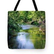 Scenic Sandusky River Tote Bag