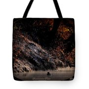 Scenic Sucarnoochee River - Wood Duck Tote Bag