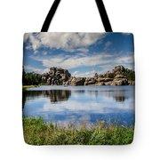 Scenic Sylvan Lake At Custer State Park Tote Bag