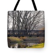 Scenic View In Madison Wisconsin Tote Bag