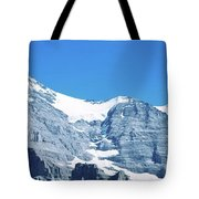 Scenic View Of Eiger And Monch Mountain Tote Bag