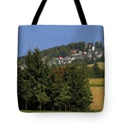 Schauenstein - A Typical Upper-franconian Town Tote Bag