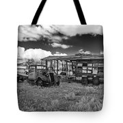 Schellbourne Station And Old Truck Tote Bag by Robert Bales