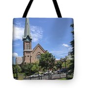 Schenectady Steeple Tote Bag