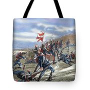 Schleswig-holstein Question. The First Schleswig War Or Three Years War 1848-1851. Fighting Tote Bag
