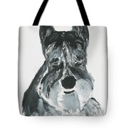 Schnauzing Around Tote Bag