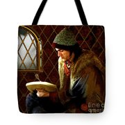 Scholar By Moonlight Tote Bag