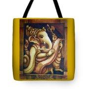 Scholar Ganesh Tote Bag