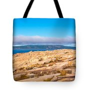 Schoodic Point 5862 Tote Bag
