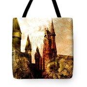 School Of Magic Tote Bag by Anastasiya Malakhova