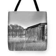 School Outhouse Tote Bag