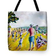 School's Out On The Beach Tote Bag