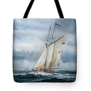 Schooner Adventuress Tote Bag