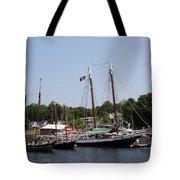 Schooner - Camden Harbor - Maine Tote Bag