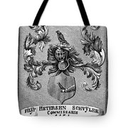 Schuyler Family Arms Tote Bag